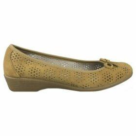 Vulladi  SERRAJE CUÑA  women's Shoes (Pumps / Ballerinas) in Brown