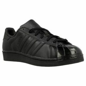 adidas  Superstar Glossy  women's Shoes (Trainers) in Black