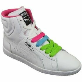 Puma  First Round Lace Wns  women's Shoes (High-top Trainers) in Black
