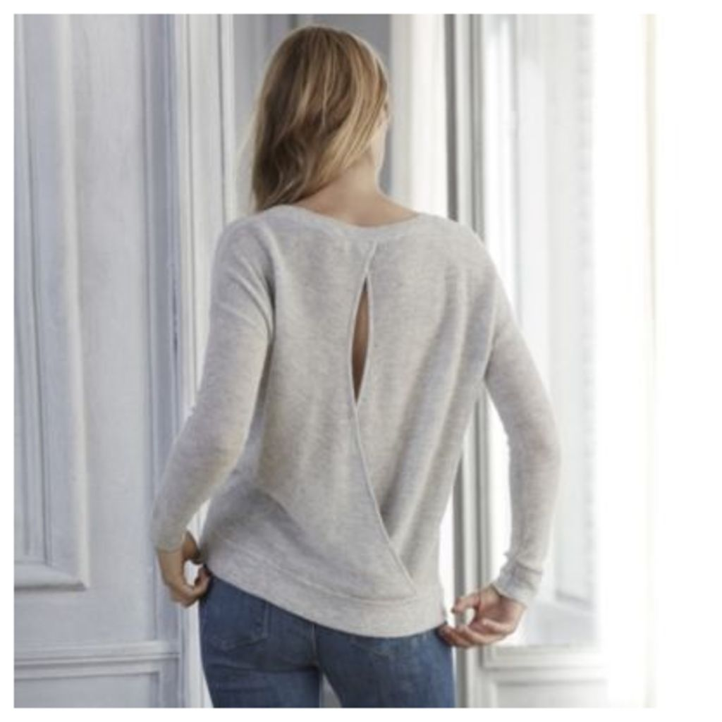 Sparkle Wrap Back Jumper