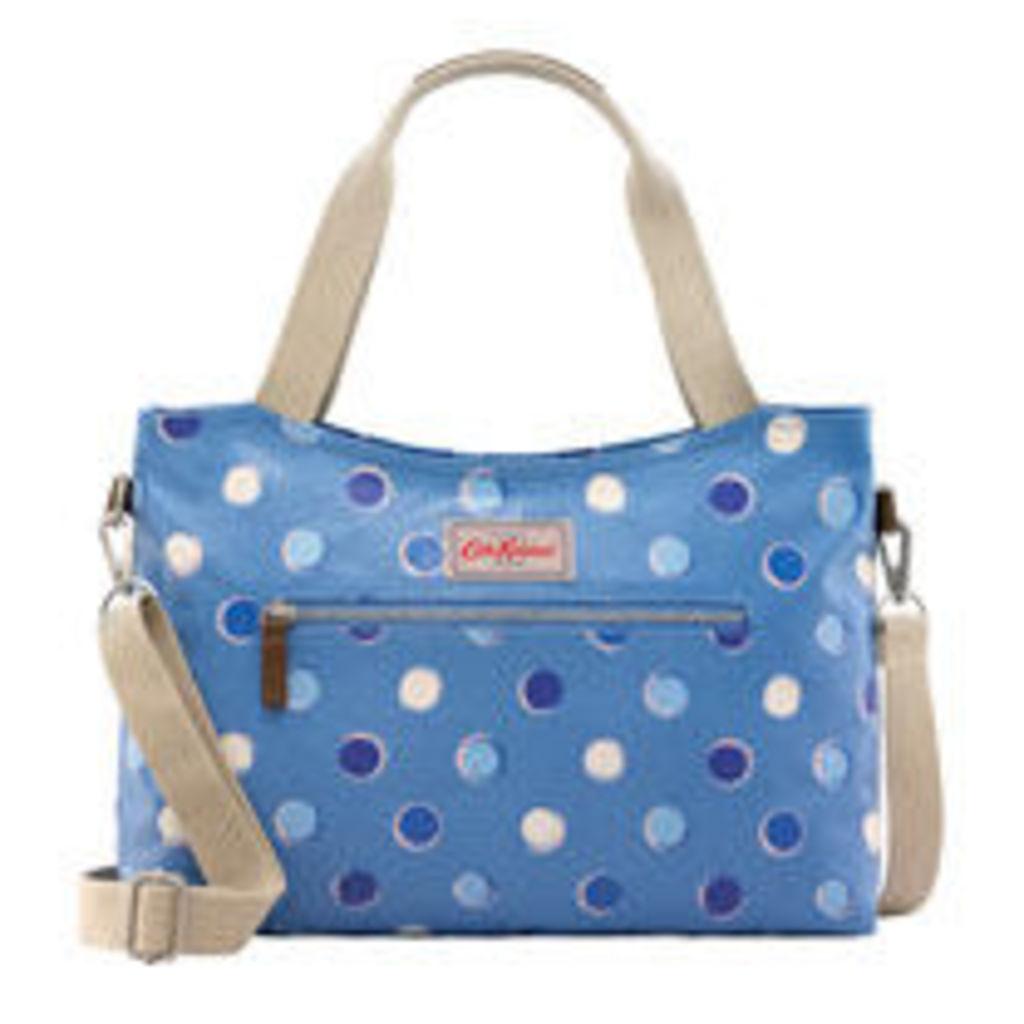 Inky Spot Zipped Handbag