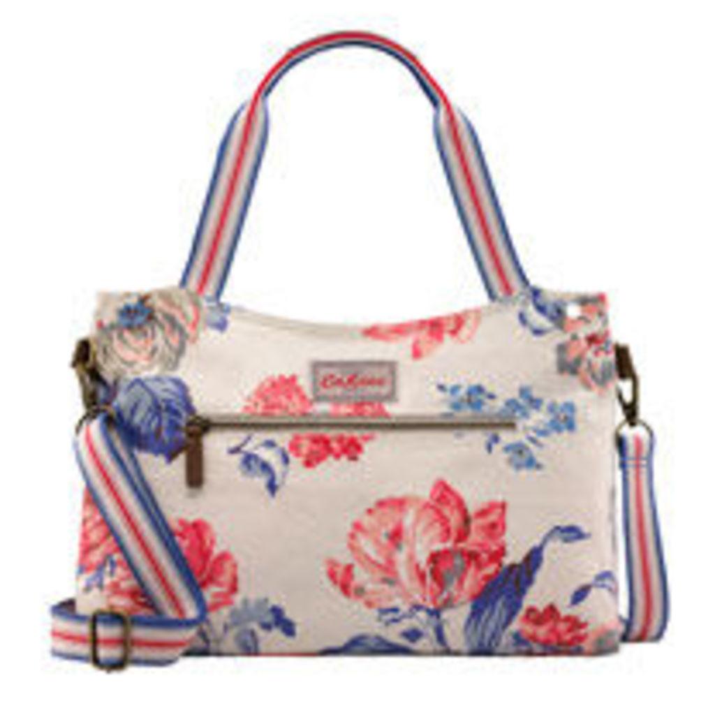 Porchester Rose Zipped Handbag