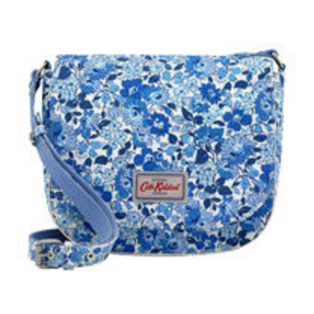Welham Flowers Curved Saddle Bag