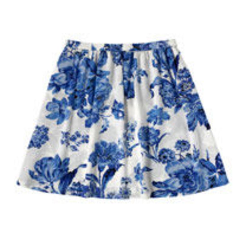 Porchester Rose Mono Skirt