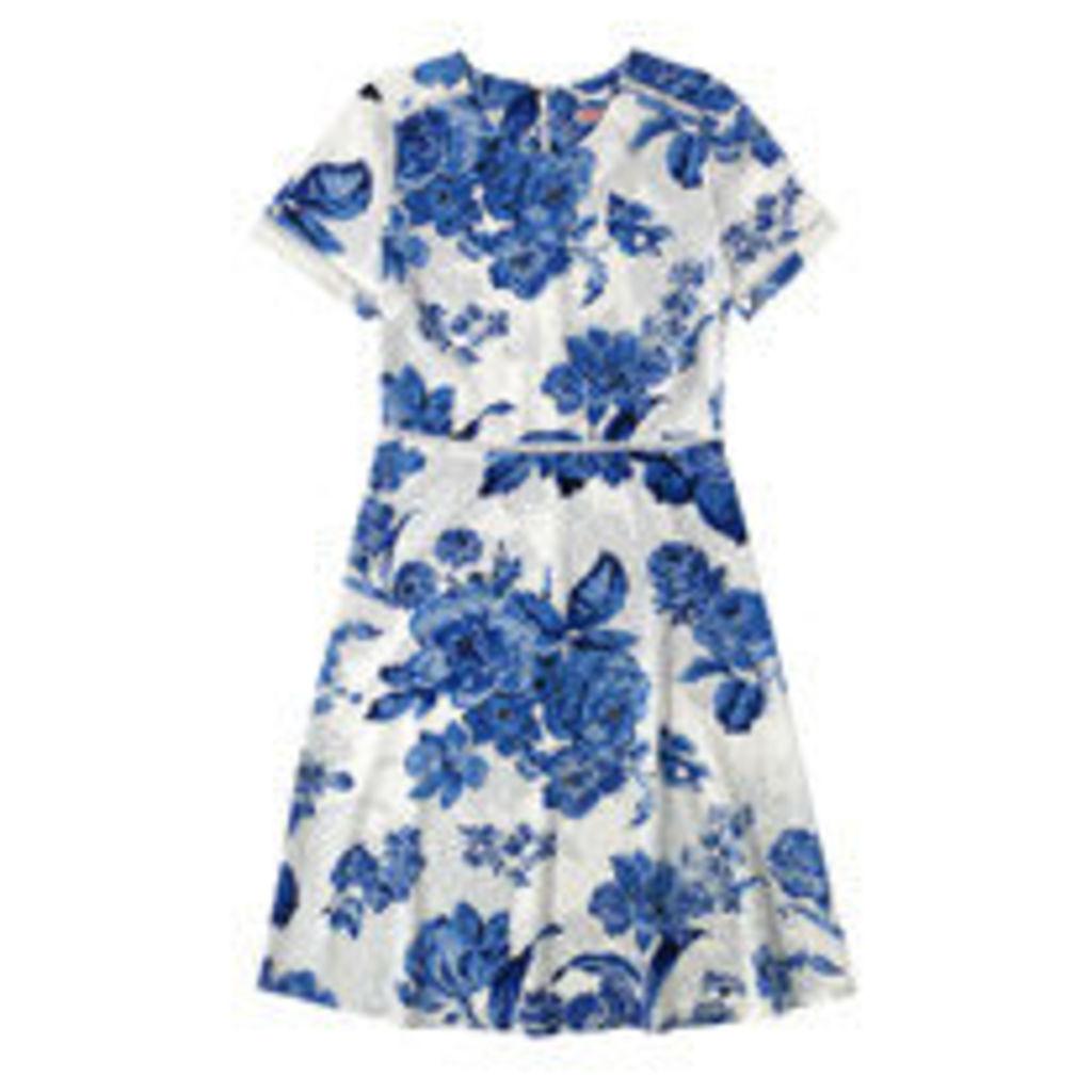 Porchester Rose Mono Tea Dress