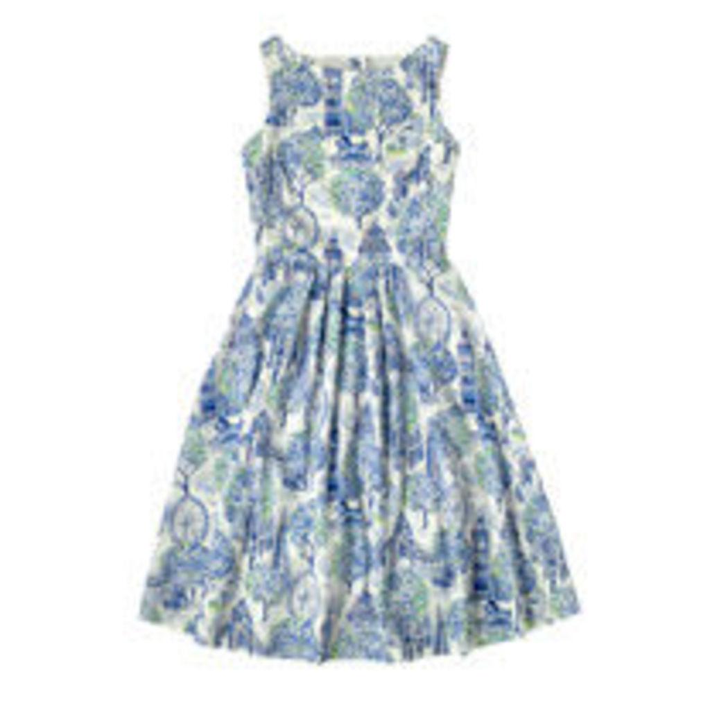 London Toile Dress