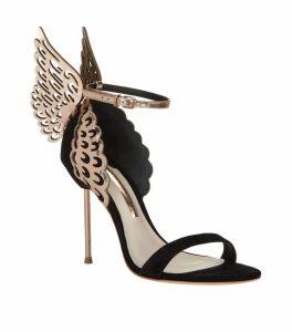 Evangeline Rose Gold Sandal