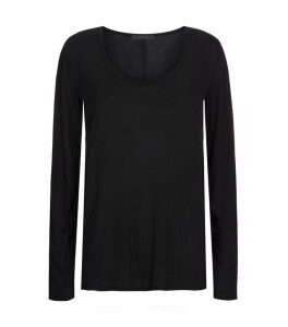 Baxerton Long Sleeve Scoop Neck Top