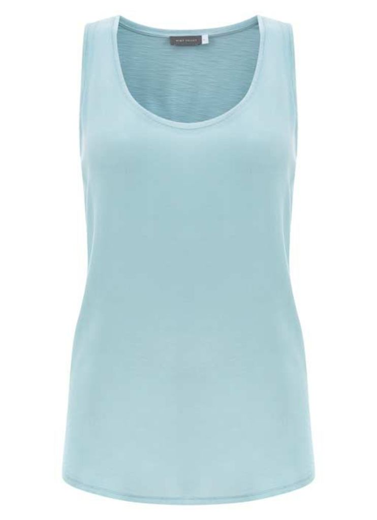 Aqua Woven Front Vest