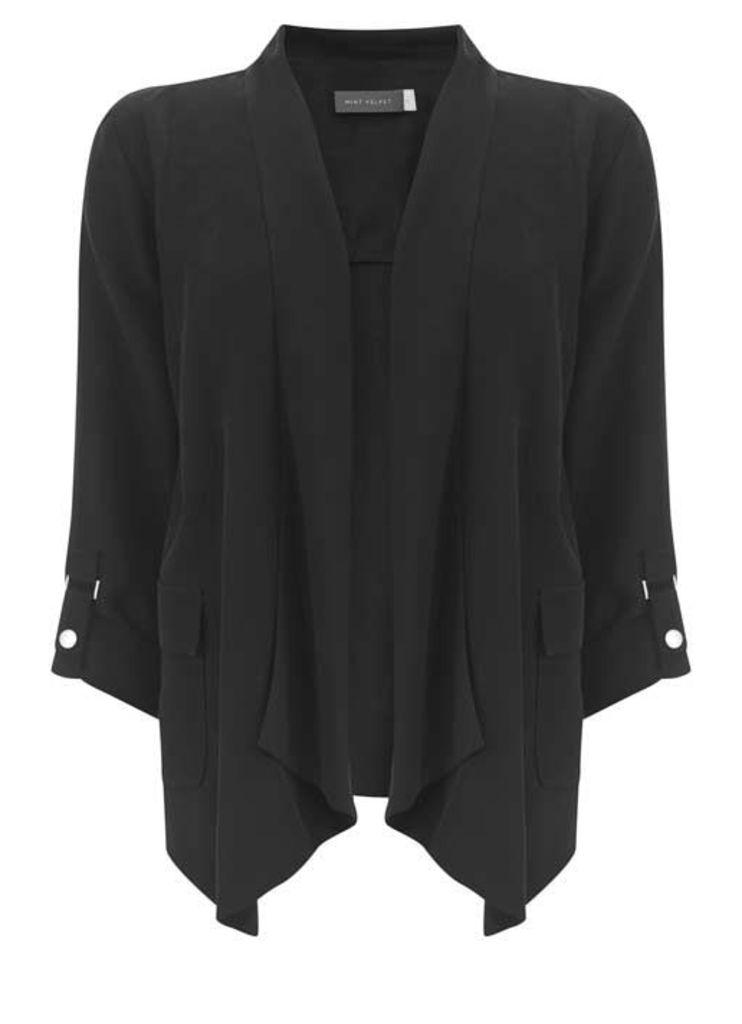 Black Soft Organic Jacket