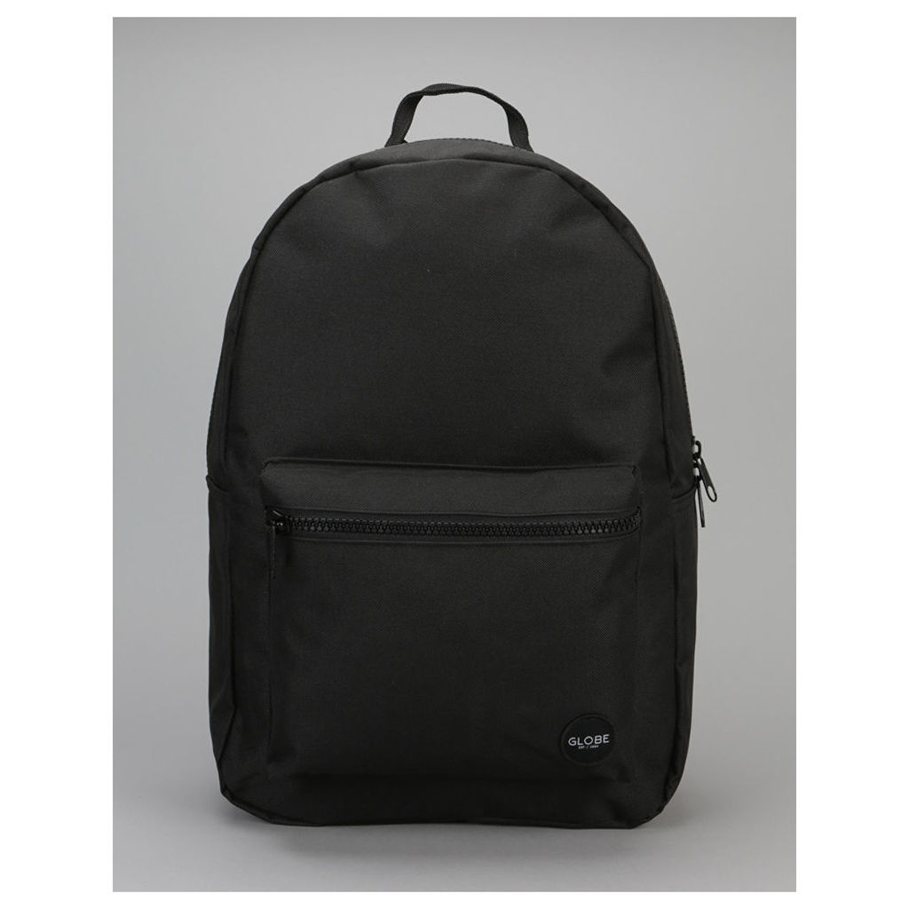 Globe Dux Deluxe Backpack - Black/Black (One Size Only)