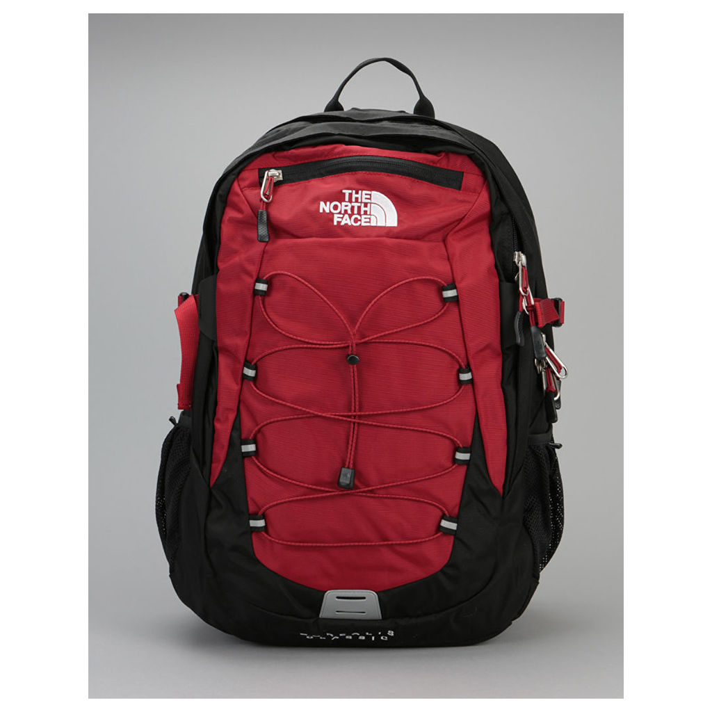 The North Face Borealis Classic Backpack - Cardinal Red/TNF Black (One Size Only)