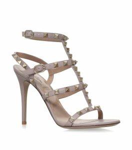 Leather Rockstud Sandals 105