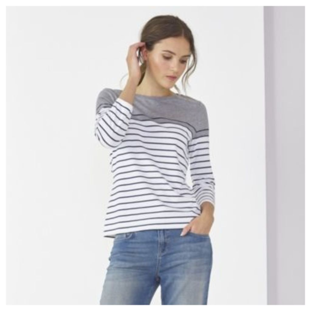 Breton Colour Block Stripe T-Shirt