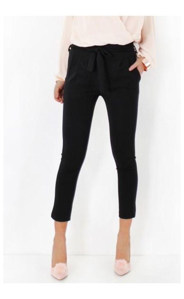 Prini Tie Waist Paperbag Trousers