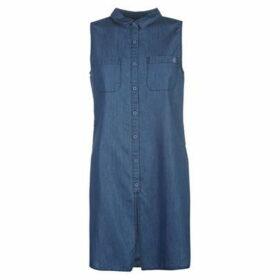 SoulCal Long Line Shirt Ladies - Dark Blue