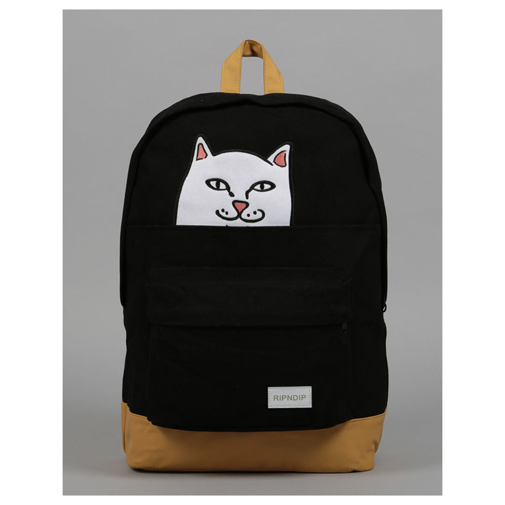 RIPNDIP Lord Nermal Backpack - Black (One Size Only)