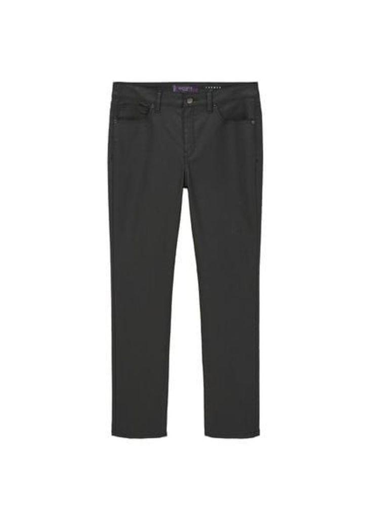 Coated slim-fit Carmen jeans