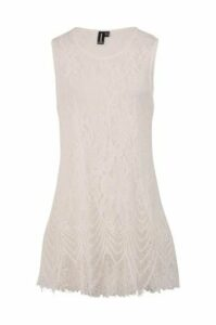 Sleeveless Lace Tunic