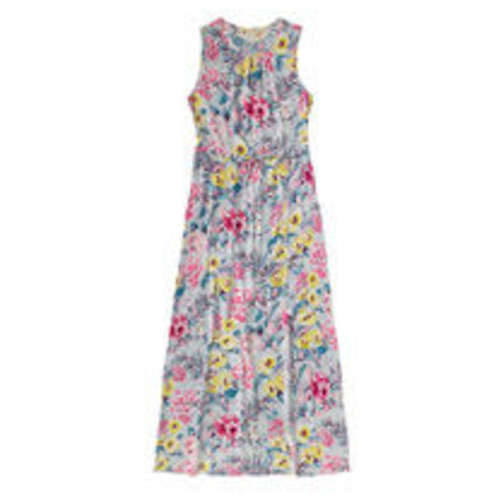 Tropical Garden Viscose Maxi Dress