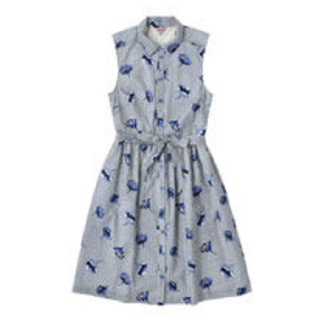 Winfield Check Sleeveless Shirt Dress
