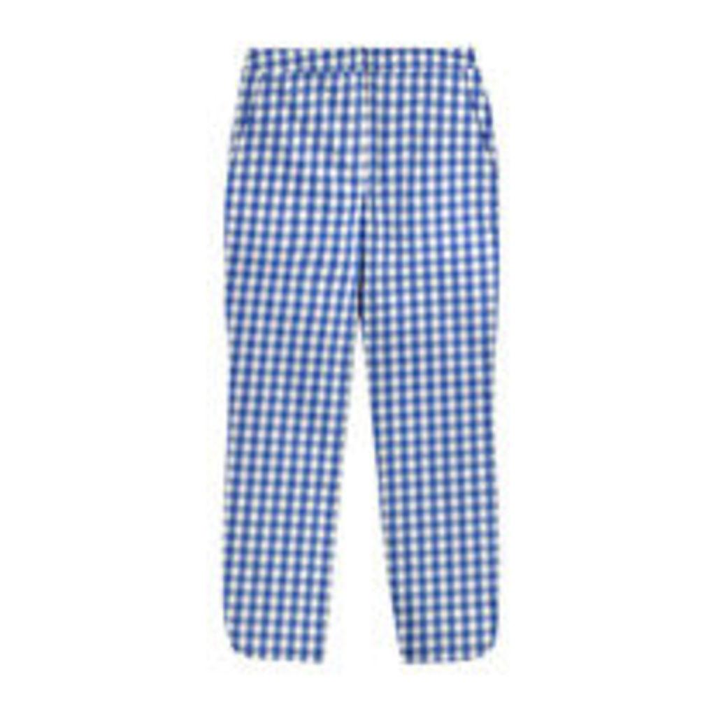 Gingham Capri Trousers
