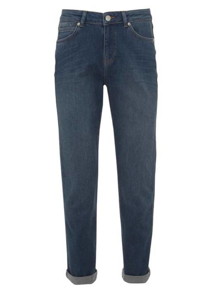 Roseville Authentic Indigo Relaxed Skinny Jeans