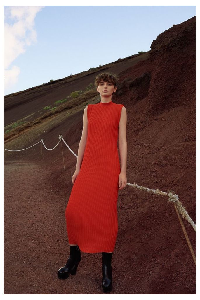 Arielle Dress Red