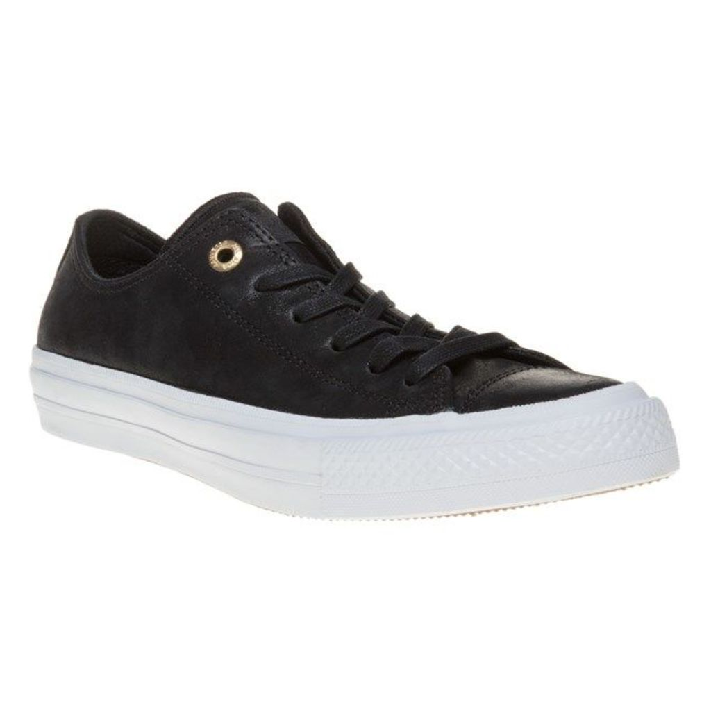 Converse Chuck Taylor All Star II Low Trainers, Black/White