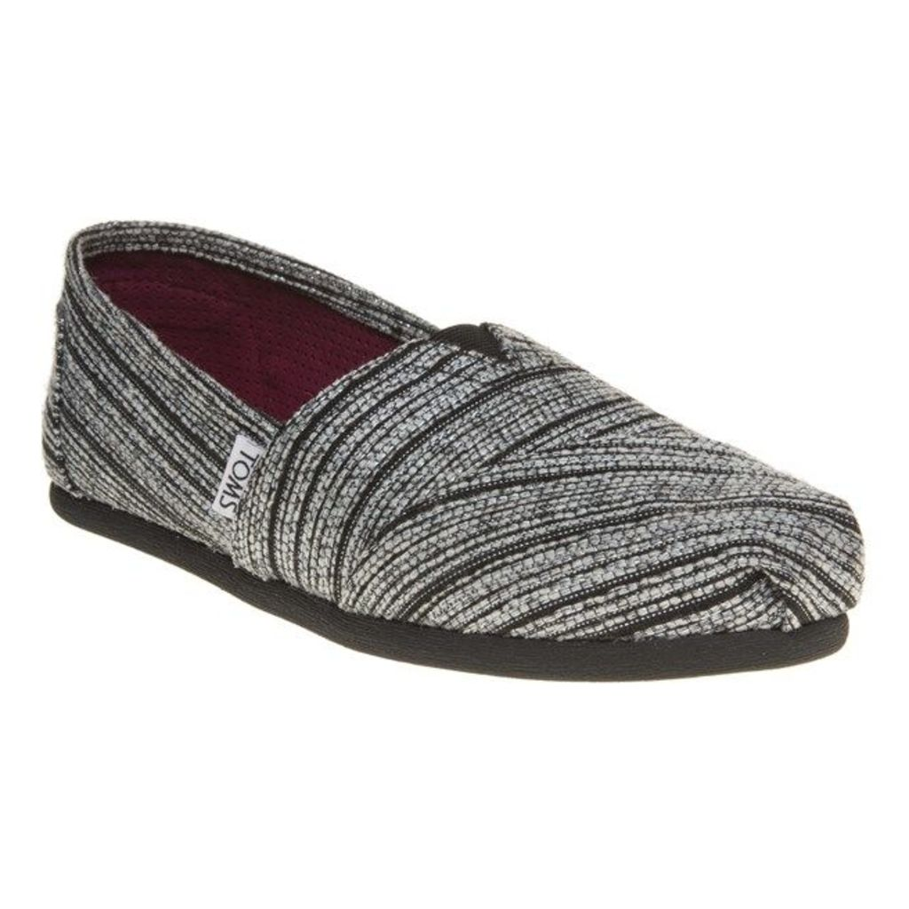 Toms Classic Shoes, Silver