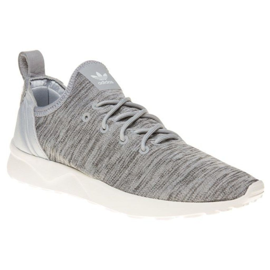 adidas Zx Flux Adv Virtue Sock Trainers, Clear Onix/White