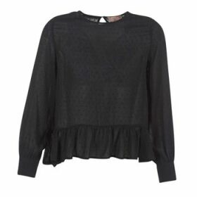 Moony Mood  HARMO  women's Blouse in Black