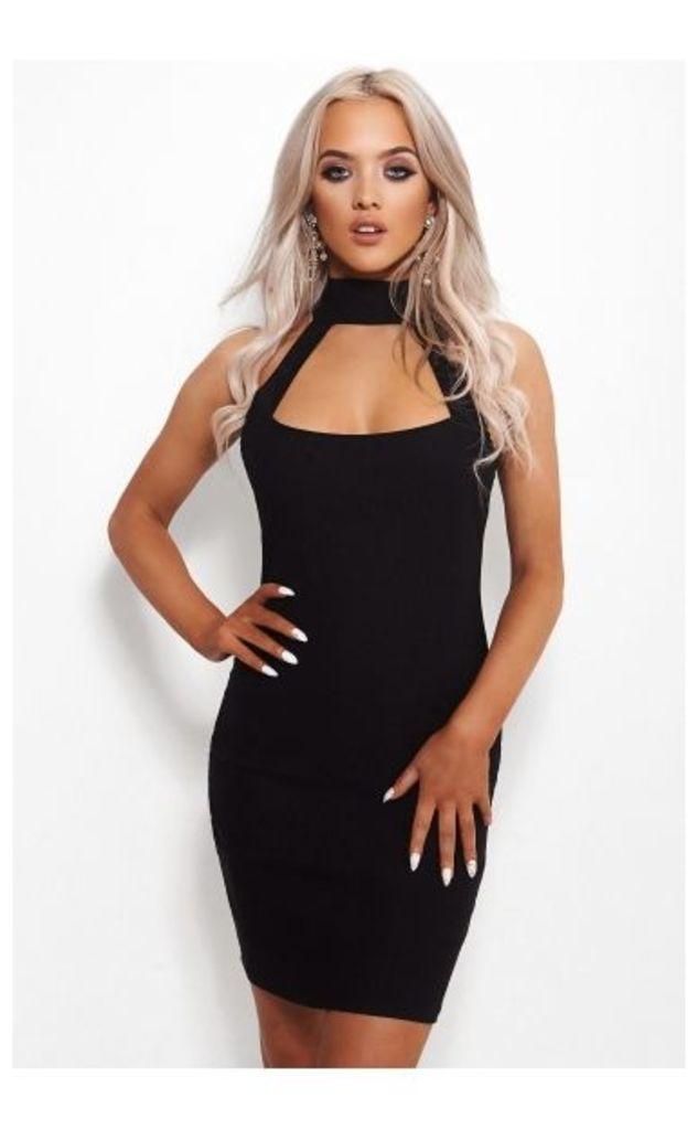Lana Black Bodycon Dress