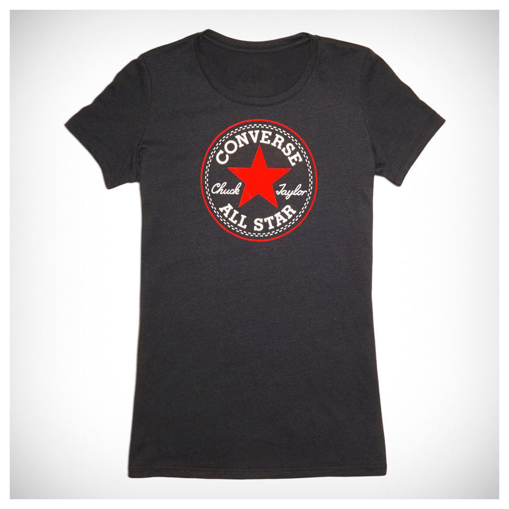 Women's Heathered Chuck Taylor Patch Tee