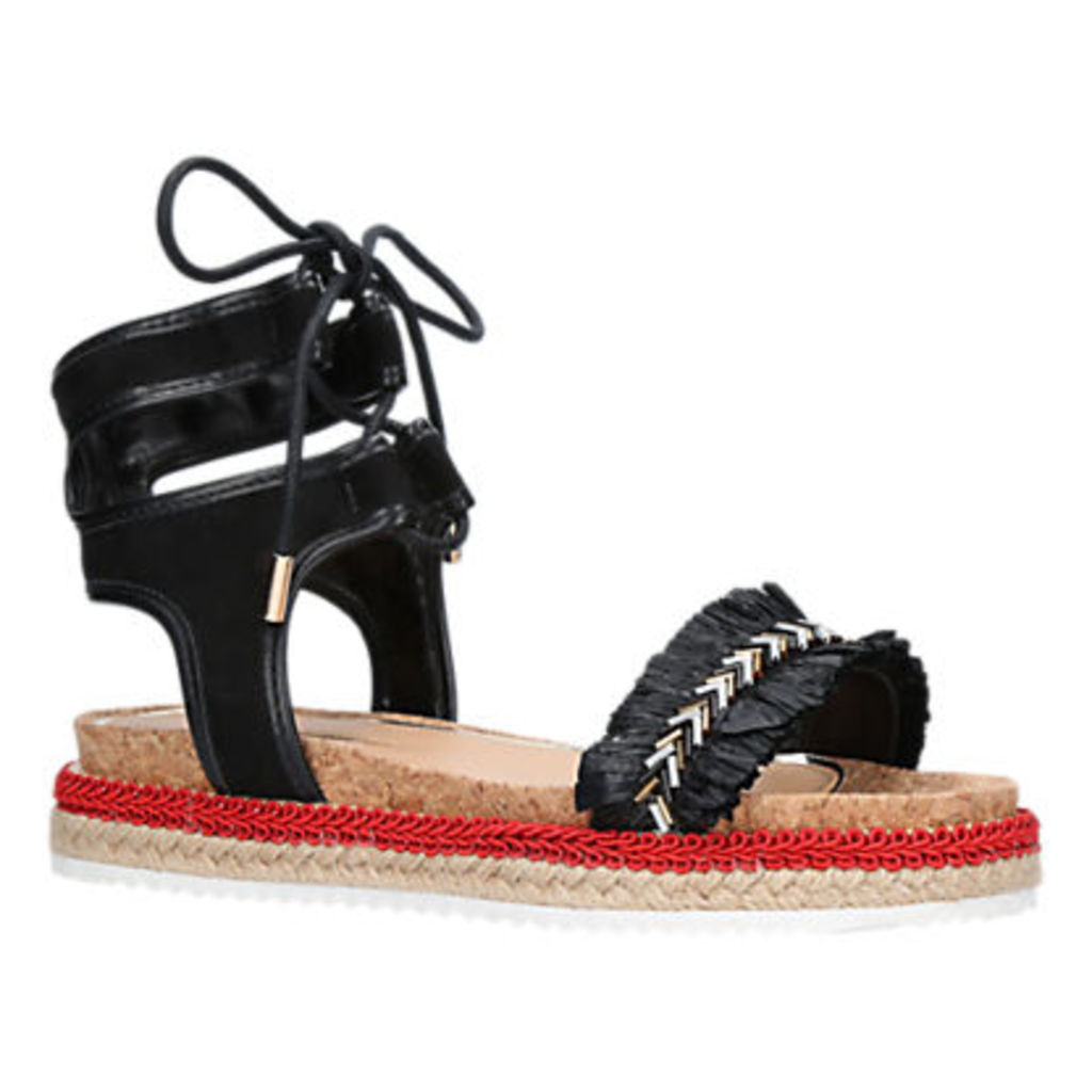 Miss KG Pebble Lace Up Sandals, Multi