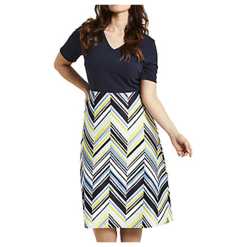 Celuu Savannah Chevron Print Dress