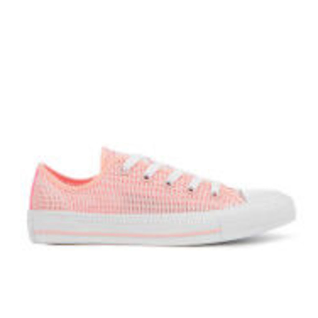 Converse Women's Chuck Taylor All Star OX Trainers - Vapor Pink/Pink Glow/White