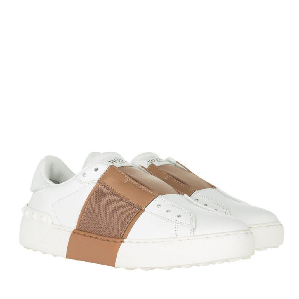 Valentino Sneakers - Bicolor Rockstud Sneaker Elastic Band Bianco/Sand - in white - Sneakers for ladies