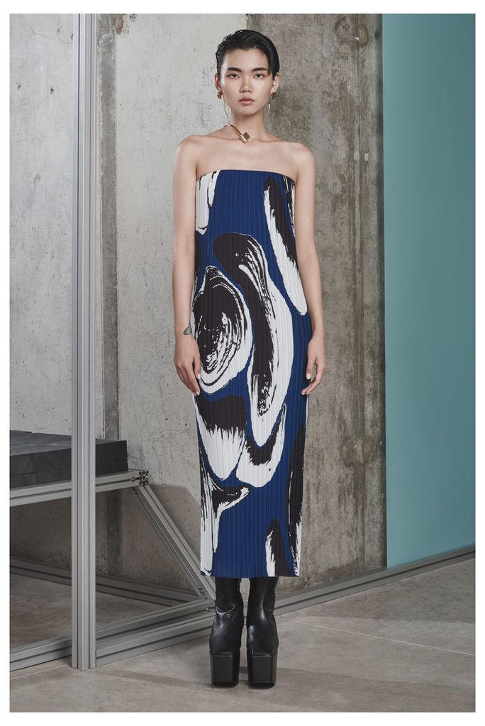 Carina Dress Navy Print