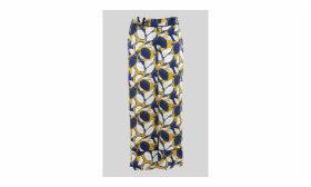 Lemon Print Silk Trouser