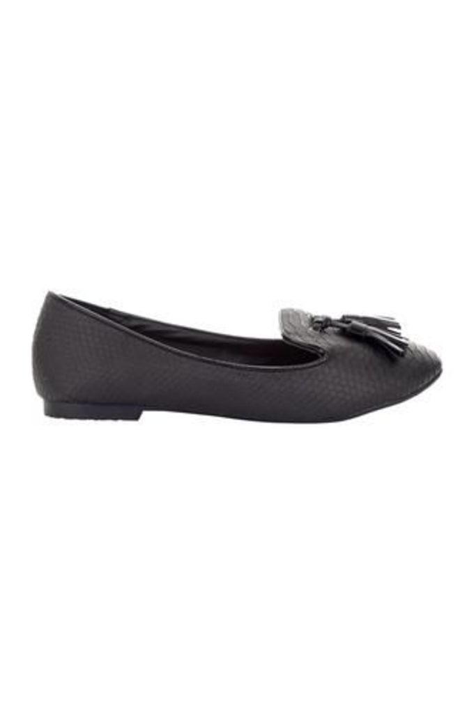 Tassel Front Slipper Shoe