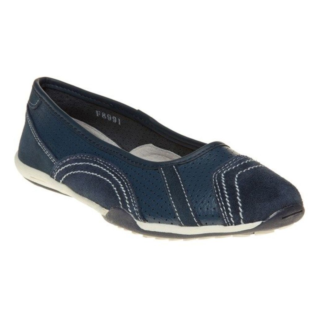 SOLESISTER Ashley Shoes, Navy