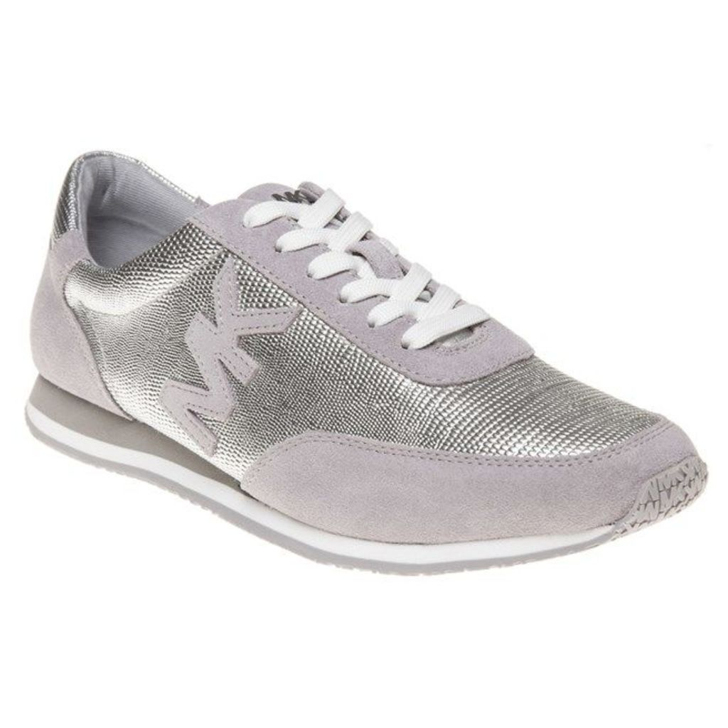 Michael Kors Stanton Trainers, Silver