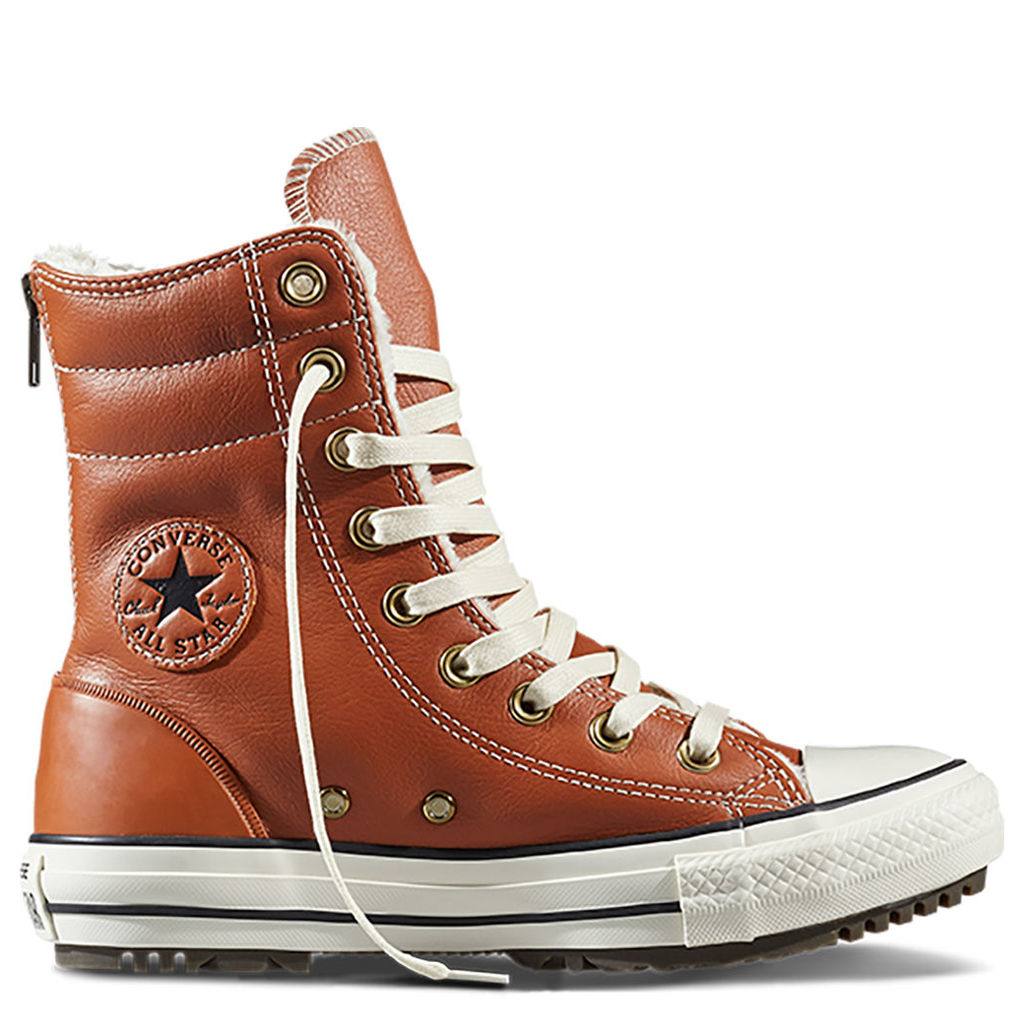 Chuck Taylor All Star Hi-Rise Boot Leather + Fur