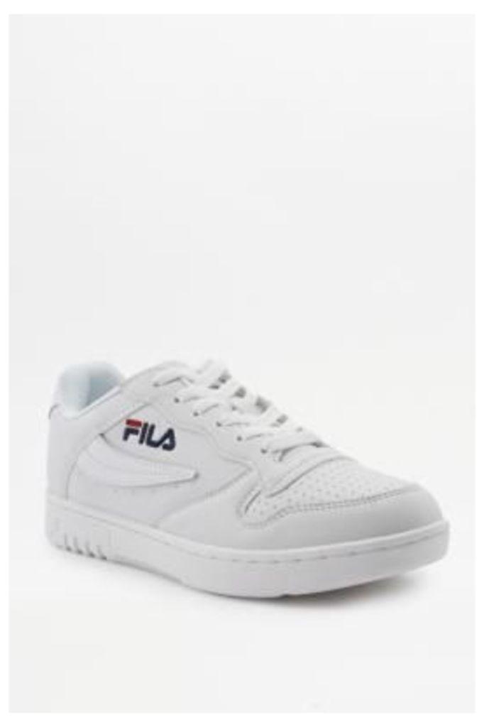 FILA FX-100 White Low Top Trainers, WHITE