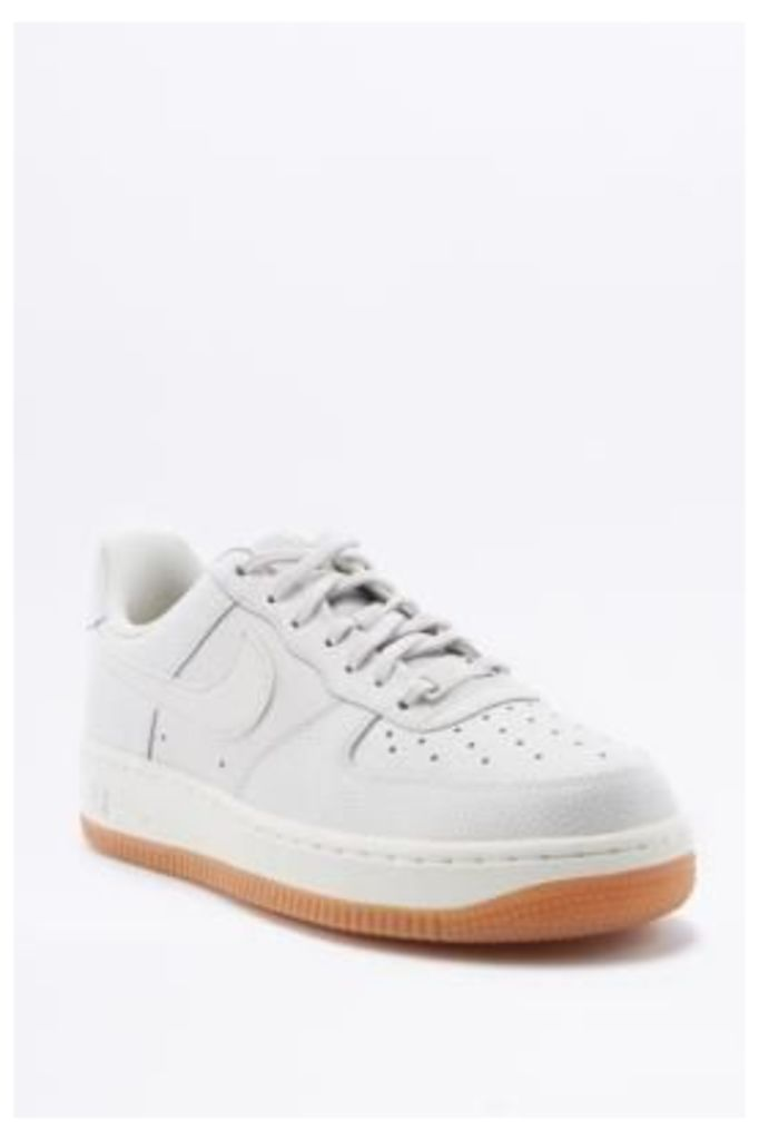 Nike Air Force 1 Low White Trainers, WHITE