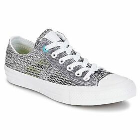 Converse  CHUCK TAYLOR ALL STAR II OPEN KNIT OX  women's Shoes (Trainers) in Grey