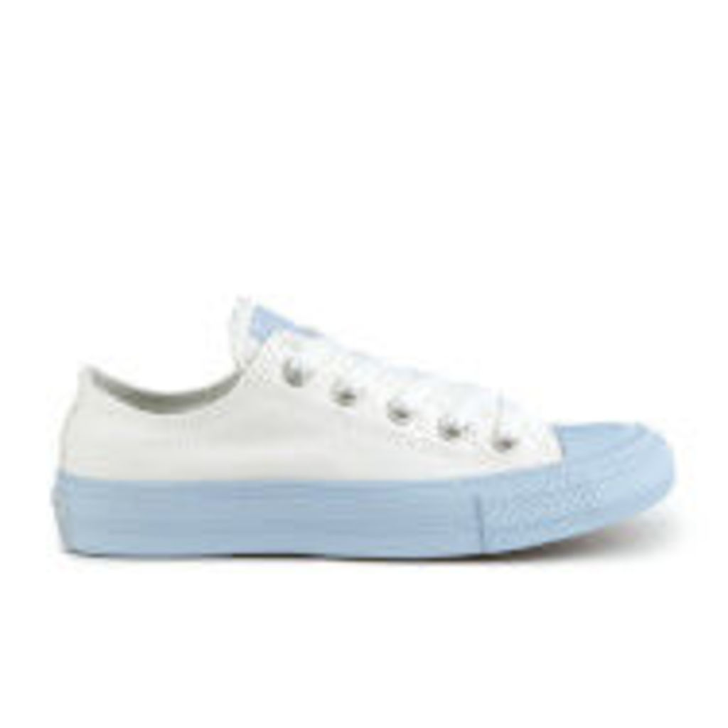 Converse Women's Chuck Taylor All Star II Ox Trainers - White/Porpoise