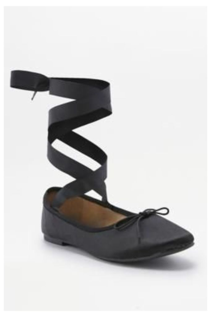 Joanna Black Ballet Shoes, BLACK