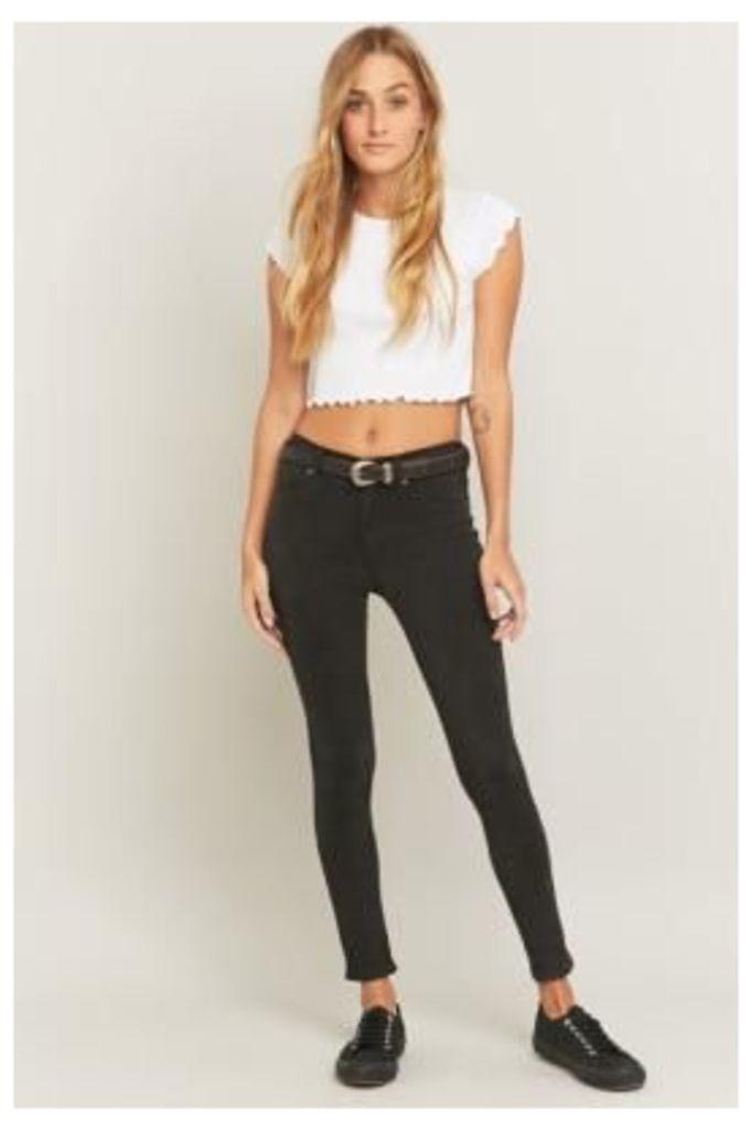 Dr. Denim Plenty Charcoal Skinny Jeans, GREY